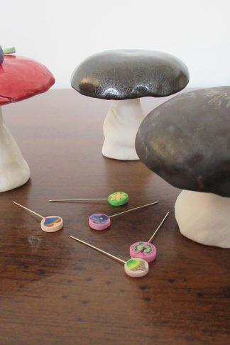 Mushroom Pin Keepers